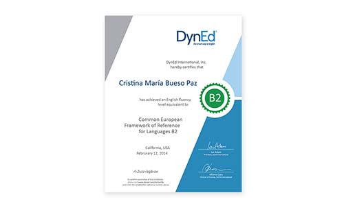 DynEd Certification